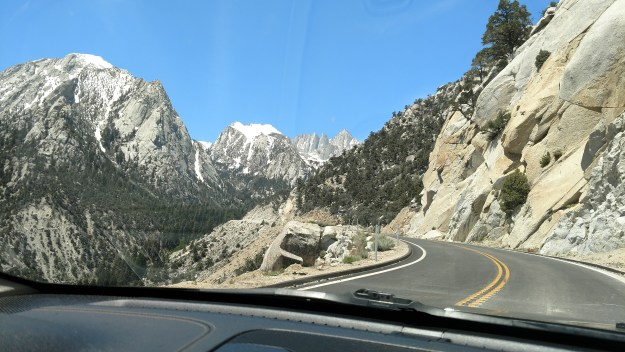 On the Road to Mount Whitney.
