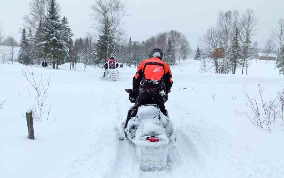 Snowmobile Pathfinding Heavy Snow Tips