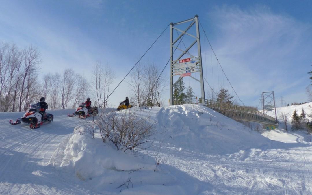 Snowmobile Quebec Charlevoix Tour Planner