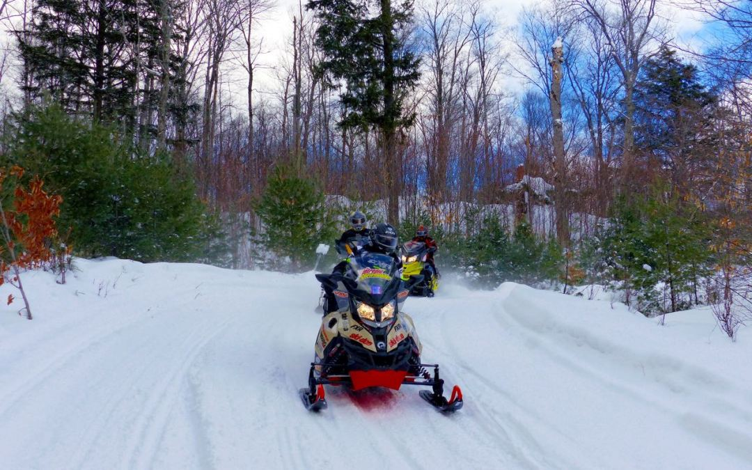 Haliburton Highlands Ontario Snowmobiling