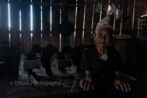 Qiewei, 80 yrs old, Jinuo minority from Manbaka village