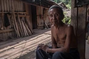 Ai Xiang is 96 yrs old, Kongge minority from Manbayao village