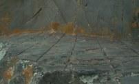 предположительные следы древней дисковой пилы
