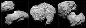 выбор возможных площадок для приземления на поверхность кометы модуля «Philae»