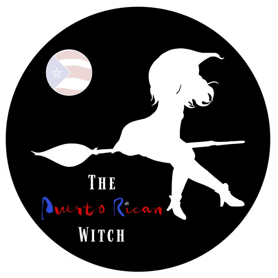 The Puerto Rican Witch logo