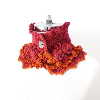 elegant-rose-scarf-short-pink-orange2
