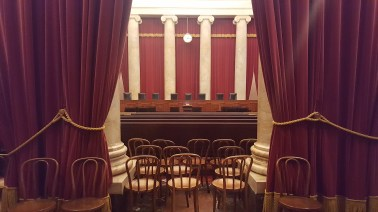 Actual Supreme Court chamber.