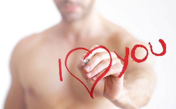 Как ведут себя влюбленные парни