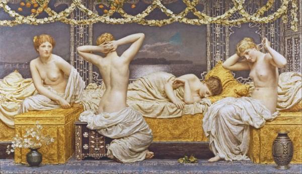 Как занимались сексом в древности