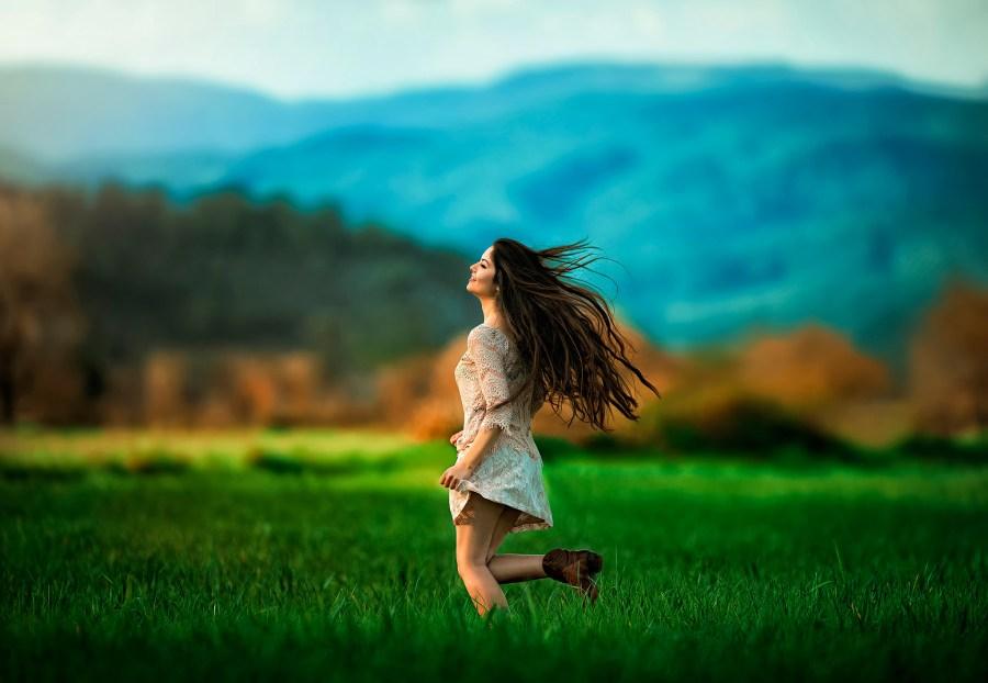 свободная девушка