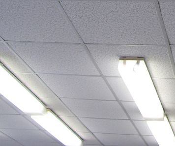 Commercial Ceiling Cleaning drop ceiling