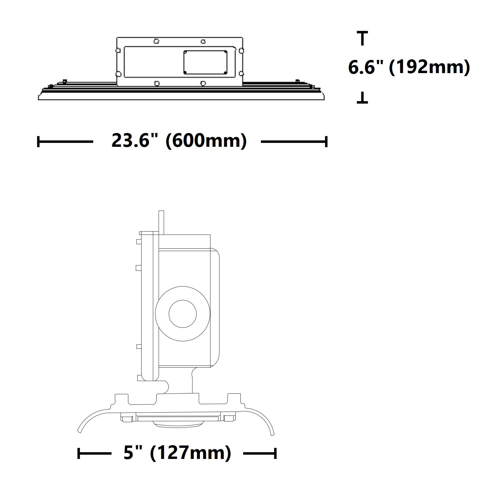 Intrinsically Safe Light 40 Watt Led Linear Nicor