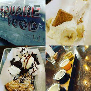 Square food flight Intrinsic