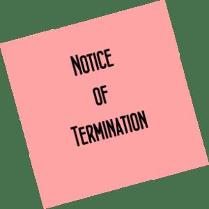 notice-of-termination