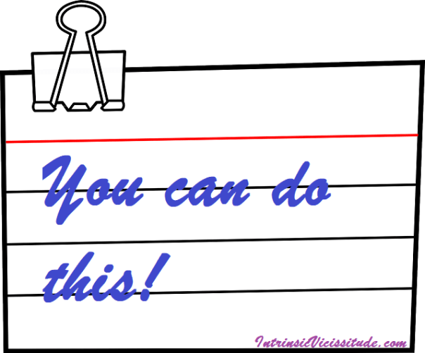 Motivation Note Card Tips