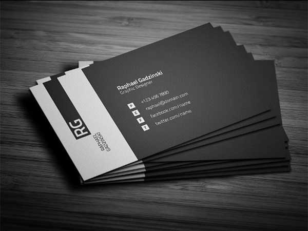 in name card nổi uv