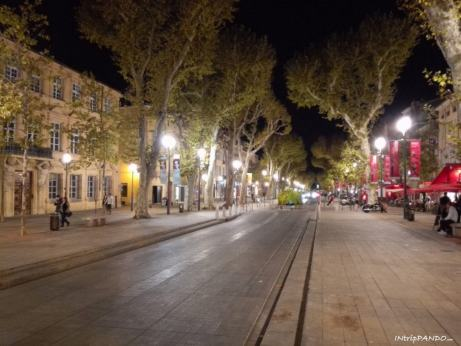 Corso Mirabeau di Aix en Provence