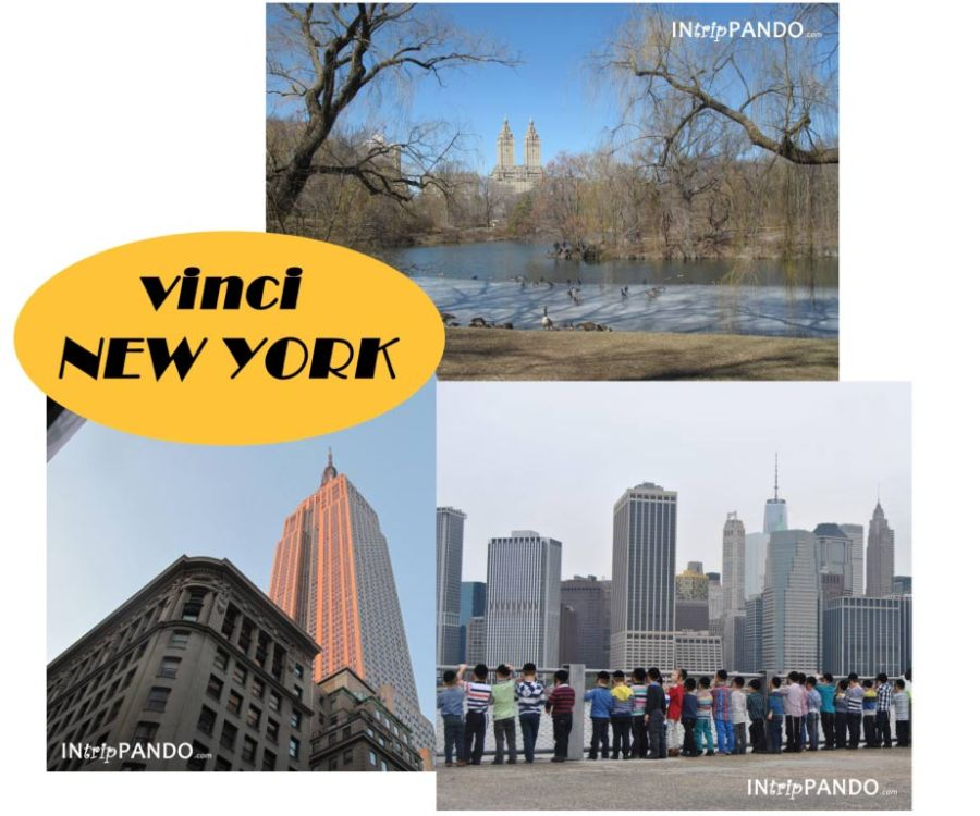 vinci viaggio a new york