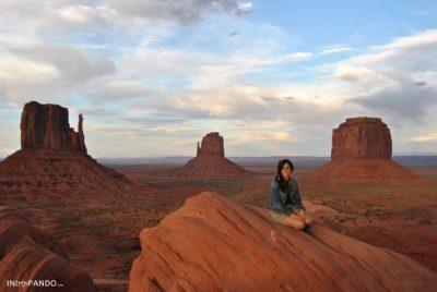 Panorama della Monument Valley