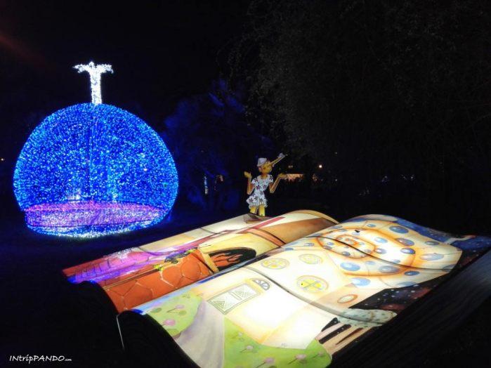 Luminarie di Salerno, Pinocchio