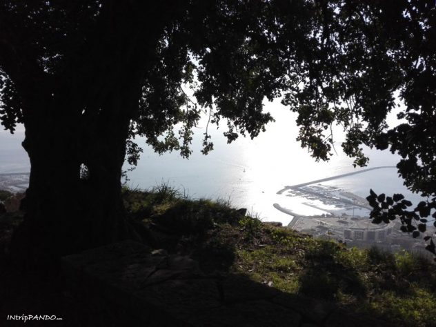 Vista del golfo di Salerno