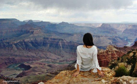 L'incantevole panorama del grand canyon