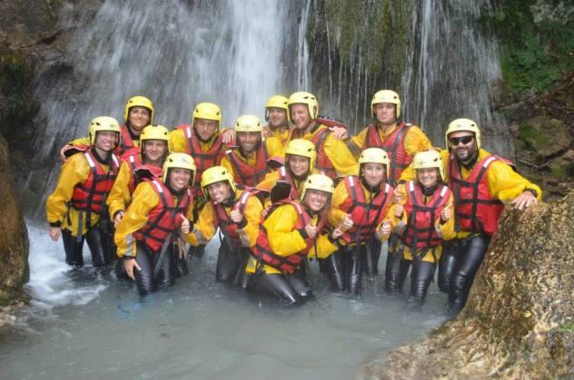 Rafting su fiume Lao in Calabria