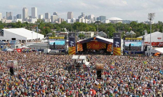 Jazz & Heritage Festival di New Orleans