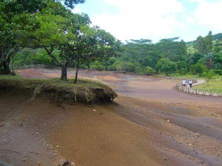 le sette terre colorate di Chamarel alle Mauritius