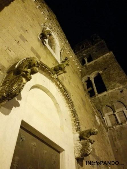 facciata del duomo di Casertavecchia