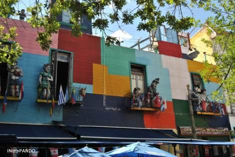 I colori delle case nel quartiere Boca di Buenos Aires