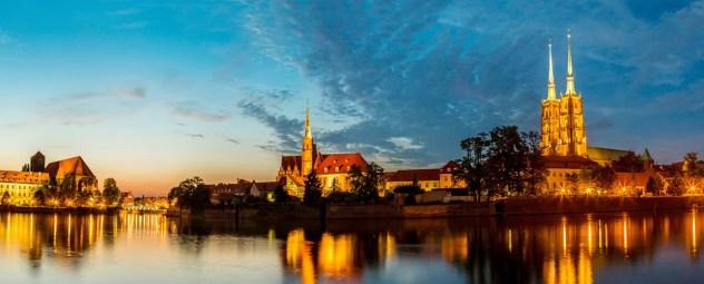 Breslavia al tramonto