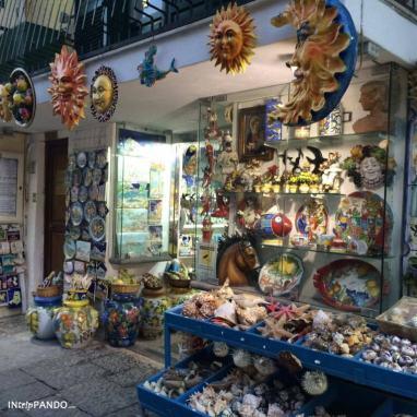 Negozi prodotti tipici a Ischia