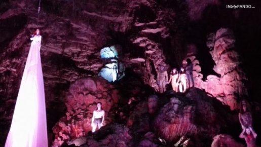 Inferno di Dante alle grotte di Catellana