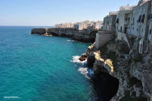 La costa di Polignano