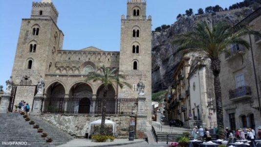 Facciata del Duomo di Cefalù