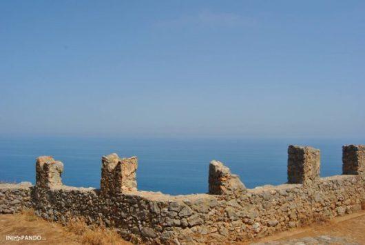 Rocca di Cefalù, mare e cielo si confondono