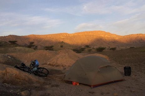 campeggio Jebel Akhdar Oman