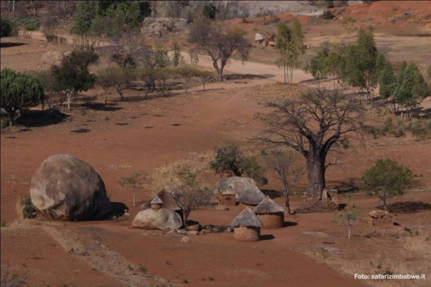 Paesaggio rurale in Zimbabwe