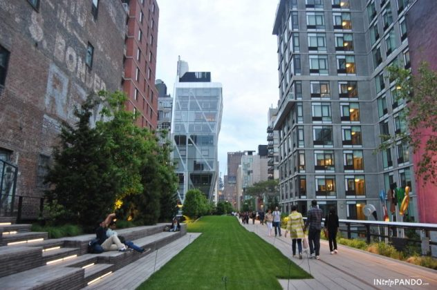 L'ex-ferrovia dell'High Line a New York