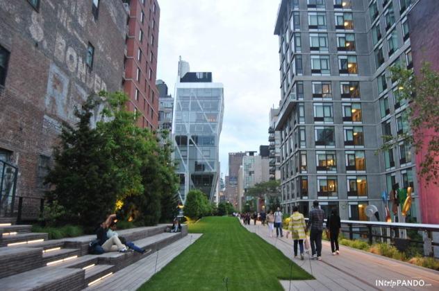 L'ex-ferrovia dell'High Line a New York
