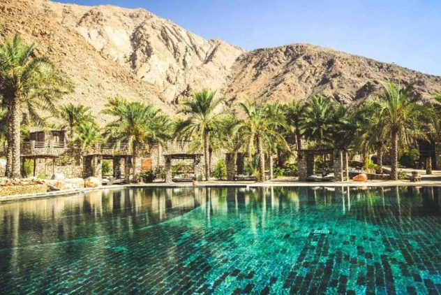 Resort di lusso Jebel Shams Oman