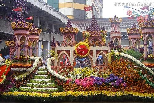 Festival dei fiori di Panagbenga nelle Filippine