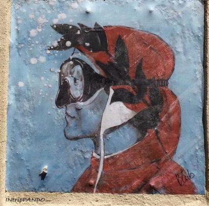"Blub, ""L'arte sa nuotare"", street art a Firenze"