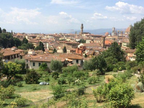 Firenze vista dal giardino delle rose
