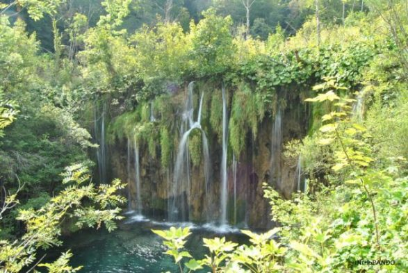 cascate nel parco di Plitvice
