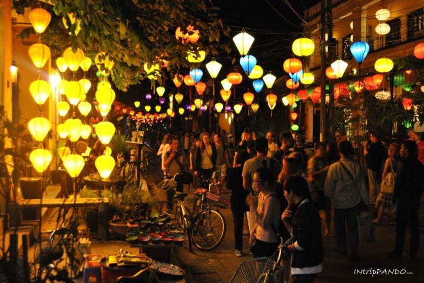 Le tipiche lanterne di Hoi An