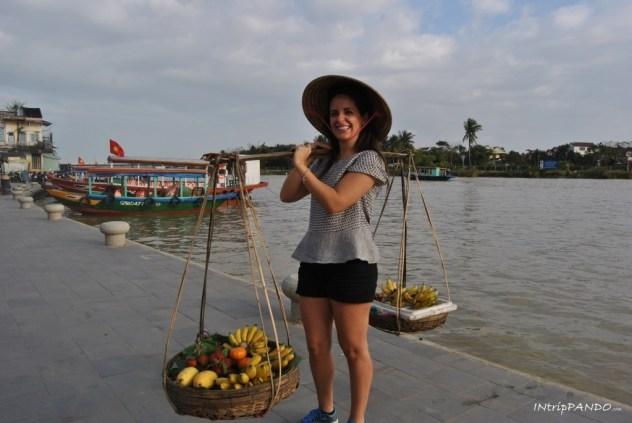 Cesti di frutta a Hoi An