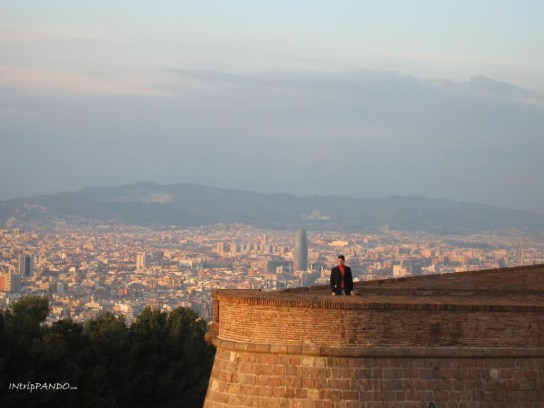Castello di Montjuic a Barcellona