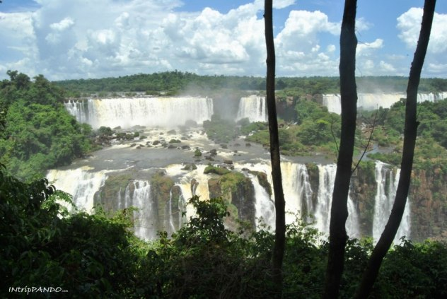 Panorama delle cascate di Iguazu